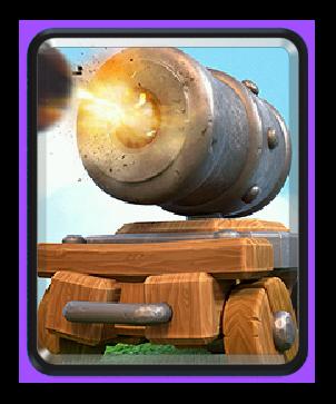 Cannon cart/ Повозка с пушкой - Clash Royale