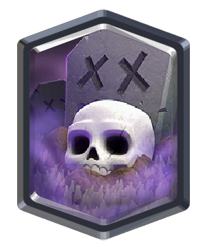 Graveyard/ Кладбище - Clash Royale
