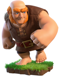 Giant/ Гигант - Clash of Clans