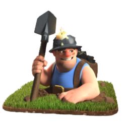 Miner/ Шахтер - Clash of Clans