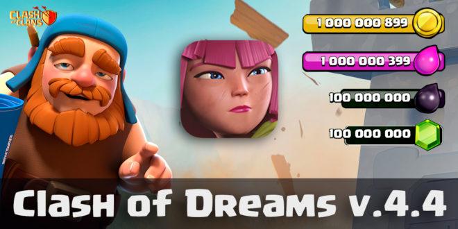 Server Clash of Dreams 4.4
