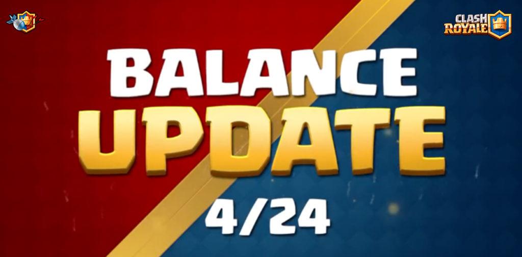 Обновление Clash Royale - Изменение баланса 24 апреля