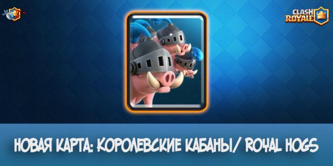 Новая карта: Королевские кабаны/ Royal Hogs - Clash Royale