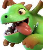 Дракончик/ Baby Dragon - Clash of Clans