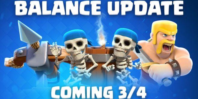 Изменение баланса в Clash Royale (4 марта 2019)