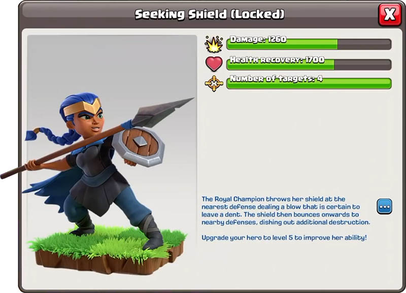 Seeking Shield/ Стремящийся Щит - Clash of Clans
