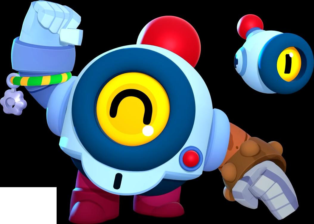 Новый робот боец