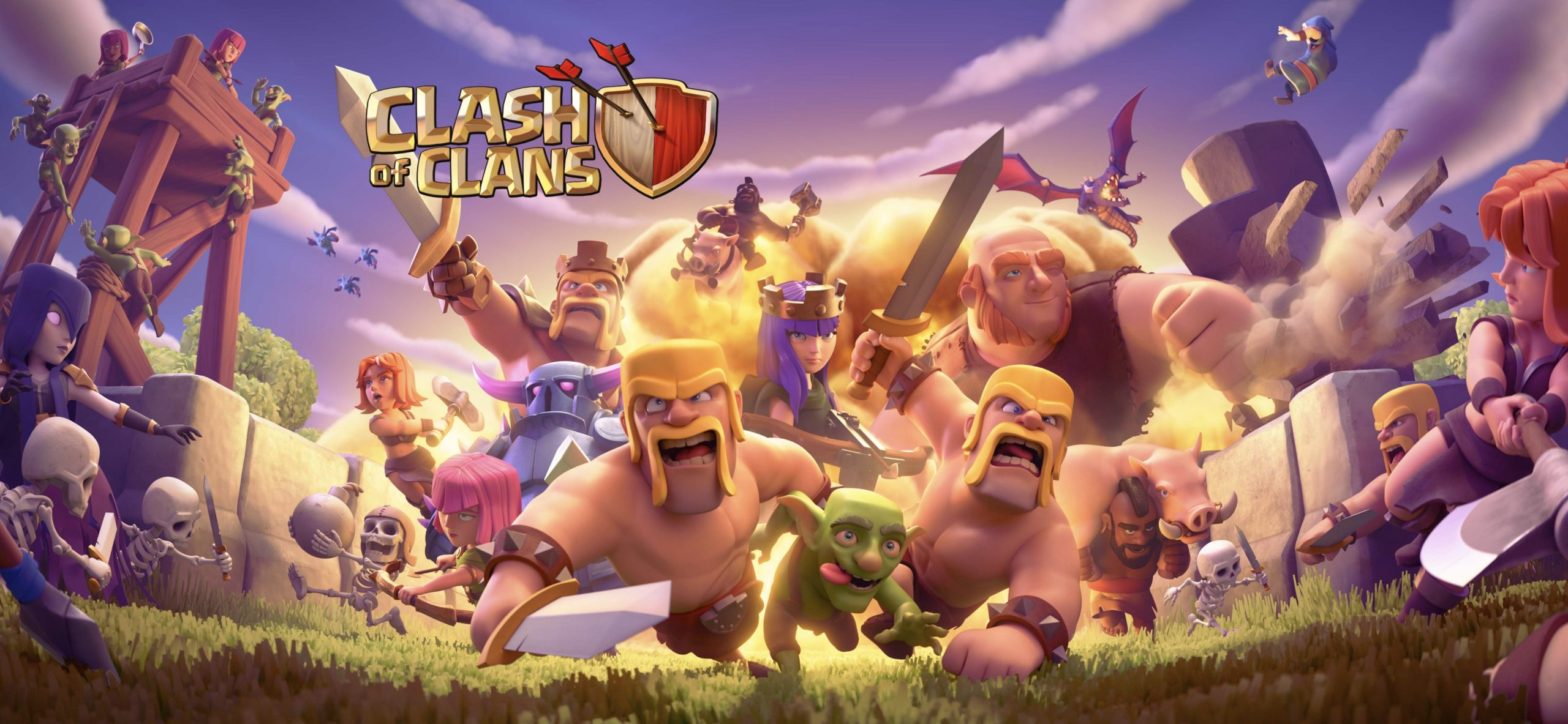Новый загрузочный экран в Clash of Clans 2020