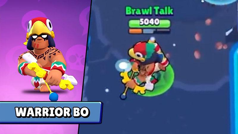 Воин БО - Brawl Stars