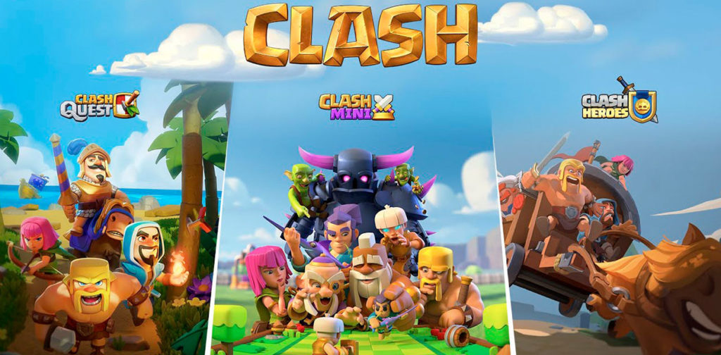 Clash Quest, Clash Mini и Clash Heroes - Три новые игры от Supercell во вселенной Клэш