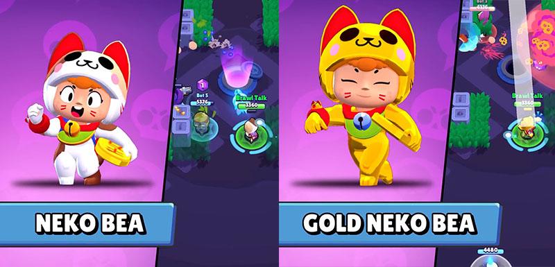 Нэко Беа и Золотая нэко Беа