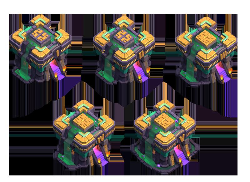 Ратуша 14 – 5 уровней