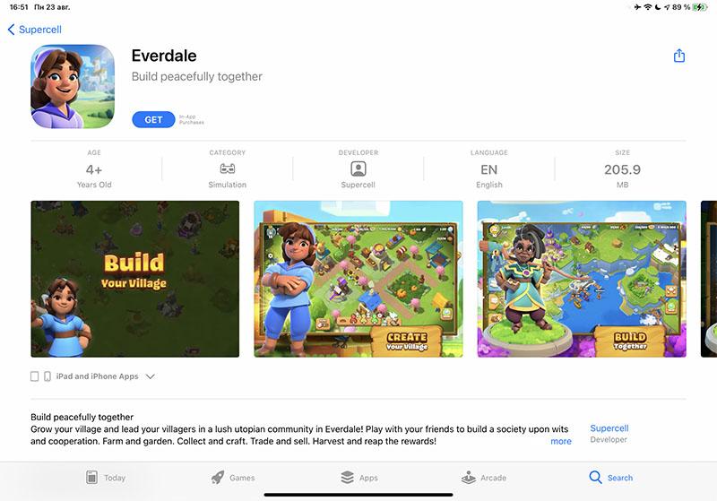 Скачать Everdale на iOS